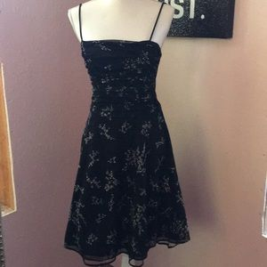 Black Prom or cocktail dress size L